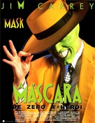 The Mask - Portuguese Movie Poster (xs thumbnail)