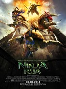 Teenage Mutant Ninja Turtles - Vietnamese Movie Poster (xs thumbnail)