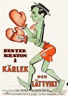 Battling Butler - Swedish Movie Poster (xs thumbnail)