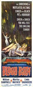 Blood Bath - Movie Poster (xs thumbnail)