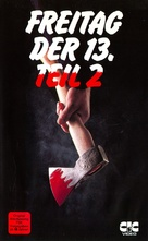 Friday the 13th Part 2 - German VHS movie cover (xs thumbnail)
