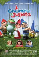 Gnomeo and Juliet - Brazilian Movie Poster (xs thumbnail)