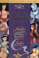 The Return of Jafar - German DVD cover (xs thumbnail)