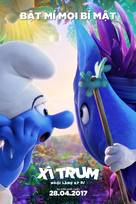 Smurfs: The Lost Village - Vietnamese Movie Poster (xs thumbnail)