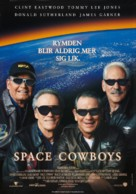 Space Cowboys - Swedish Movie Poster (xs thumbnail)
