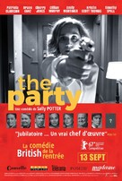The Party - French Movie Poster (xs thumbnail)