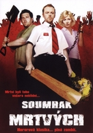 Shaun of the Dead - Czech DVD cover (xs thumbnail)