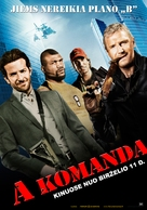 The A-Team - Lithuanian Movie Poster (xs thumbnail)