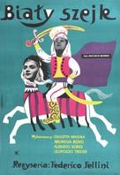 Lo sceicco bianco - Polish Movie Poster (xs thumbnail)