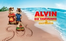 Alvin and the Chipmunks: Chipwrecked - German Movie Poster (xs thumbnail)