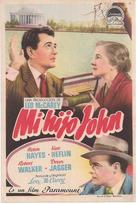 My Son John - Spanish Movie Poster (xs thumbnail)