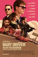 Baby Driver - Portuguese Movie Poster (xs thumbnail)