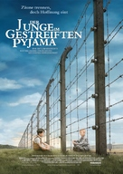 The Boy in the Striped Pyjamas - German Movie Poster (xs thumbnail)