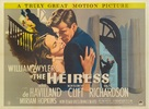 The Heiress - British Movie Poster (xs thumbnail)