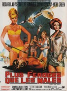 Deadlier Than the Male - French Movie Poster (xs thumbnail)
