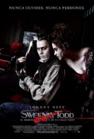Sweeney Todd: The Demon Barber of Fleet Street - Argentinian Movie Poster (xs thumbnail)