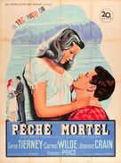Leave Her to Heaven - French Movie Poster (xs thumbnail)