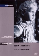 Jeux interdits - French DVD cover (xs thumbnail)