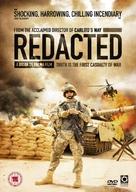 Redacted - British DVD cover (xs thumbnail)