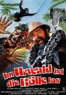 Going Bananas - German Movie Poster (xs thumbnail)