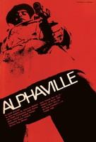 Alphaville, une étrange aventure de Lemmy Caution - Argentinian Movie Poster (xs thumbnail)