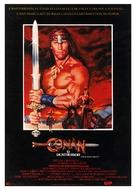 Conan The Destroyer - Brazilian Movie Poster (xs thumbnail)