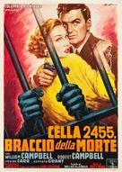 Cell 2455 Death Row - Italian Movie Poster (xs thumbnail)