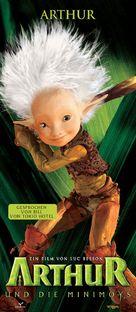 Arthur et les Minimoys - German Movie Poster (xs thumbnail)
