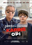 The War with Grandpa - Latvian Movie Poster (xs thumbnail)