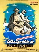 Étrange désir de Monsieur Bard, L' - French Movie Poster (xs thumbnail)