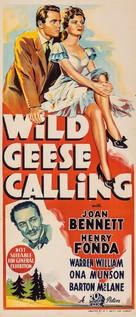 Wild Geese Calling - Australian Movie Poster (xs thumbnail)