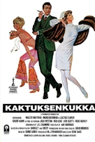 Cactus Flower - Finnish VHS movie cover (xs thumbnail)