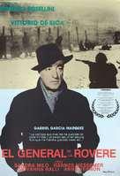 Il generale della Rovere - Spanish Movie Poster (xs thumbnail)