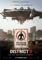 District 9 - Italian Movie Poster (xs thumbnail)