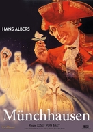 Münchhausen - German Movie Cover (xs thumbnail)