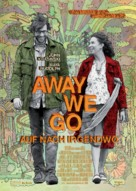 Away We Go - German Movie Poster (xs thumbnail)