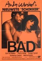 Bad - Dutch Movie Poster (xs thumbnail)