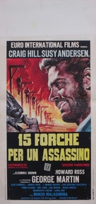 Quindici forche per un assassino - Italian Movie Poster (xs thumbnail)