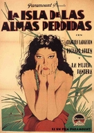 Island of Lost Souls - Spanish Movie Poster (xs thumbnail)