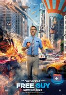 Free Guy - Irish Movie Poster (xs thumbnail)