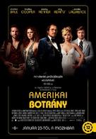 American Hustle - Hungarian Movie Poster (xs thumbnail)