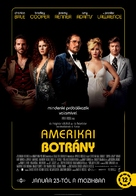 American Hustle - Hungarian Movie Poster (xs thumbnail)