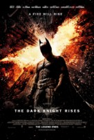 The Dark Knight Rises - Danish Movie Poster (xs thumbnail)