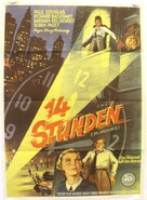 Fourteen Hours - German Movie Poster (xs thumbnail)