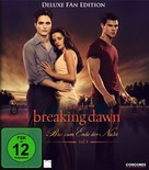 The Twilight Saga: Breaking Dawn - Part 1 - German Blu-Ray cover (xs thumbnail)