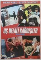 La banda de los tres crisantemos - Turkish Movie Poster (xs thumbnail)