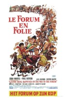 A Funny Thing Happened on the Way to the Forum - Belgian Movie Poster (xs thumbnail)