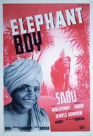 Elephant Boy - Swedish Movie Poster (xs thumbnail)