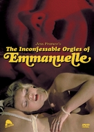Las orgías inconfesables de Emmanuelle - DVD movie cover (xs thumbnail)