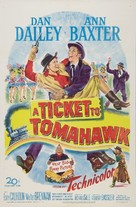 A Ticket to Tomahawk - Movie Poster (xs thumbnail)